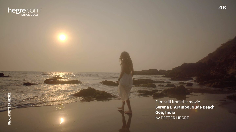 Serena L Arambol Nude Beach Goa India - Hegrecom-9398