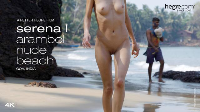 Serena L Arambol Nude Beach Goa India