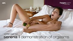 Serena L Demonstration of Orgasms