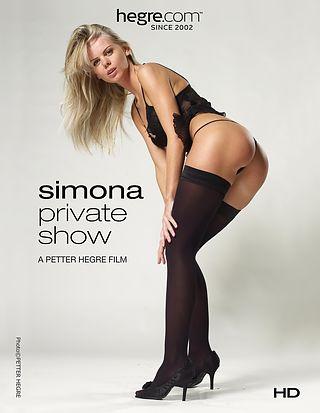 Simona Private Show