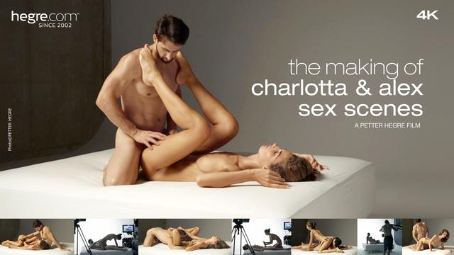 The Making of Charlotta und Alexes Sexszenen
