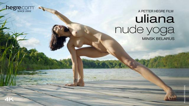 Uliana Nude Yoga