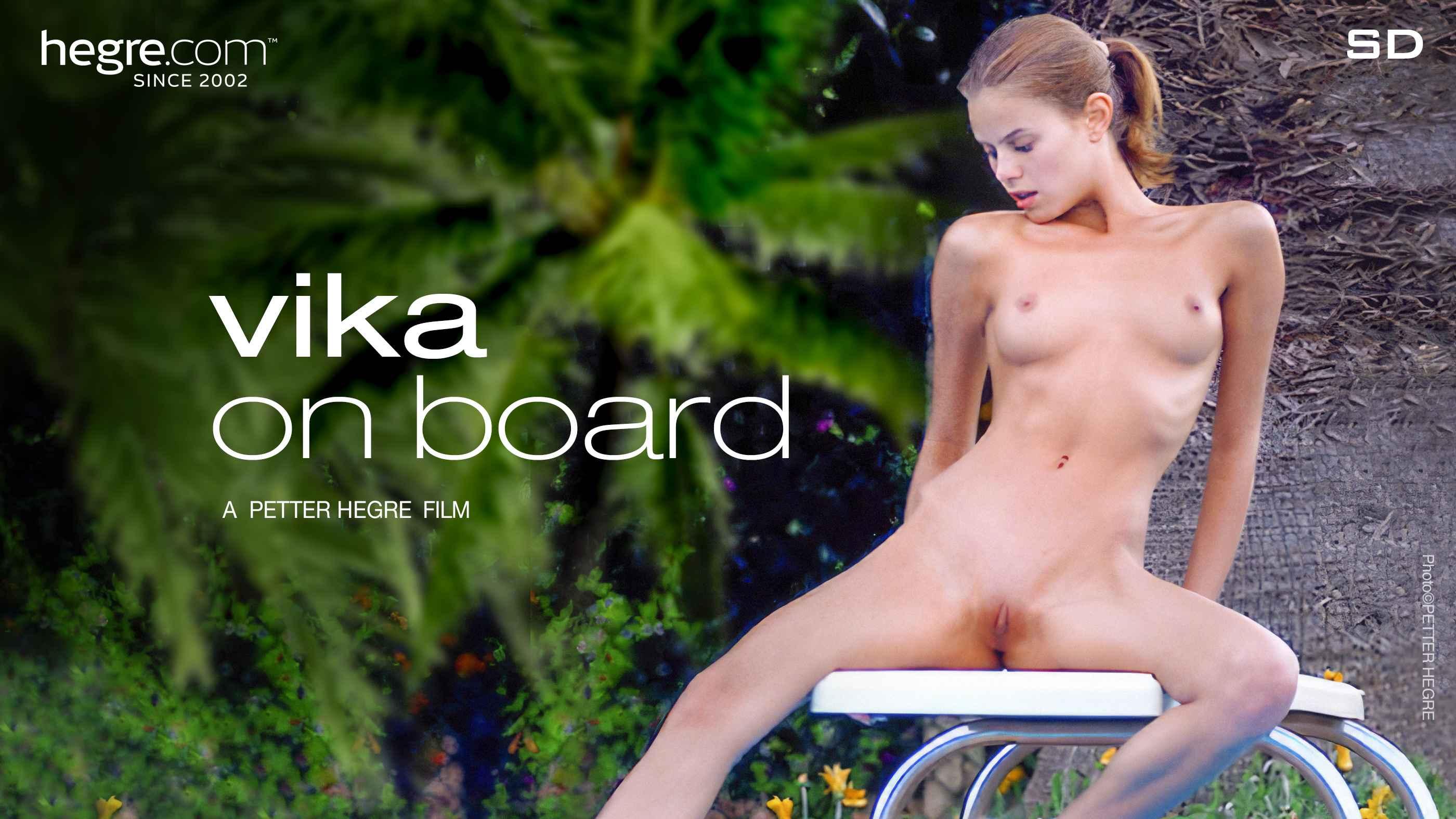 Vika on Board