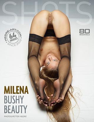 Milena bushy beauty