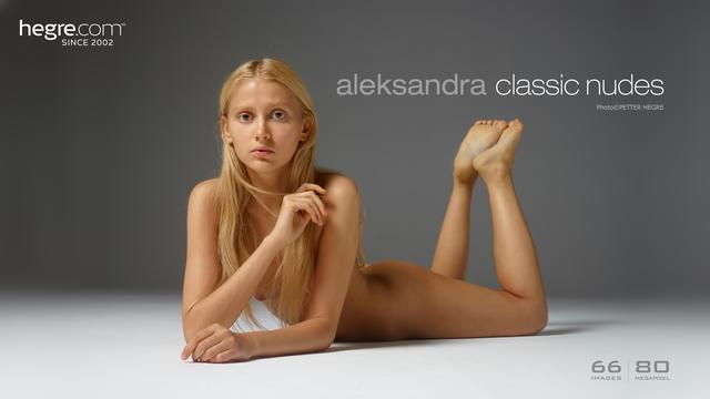 Aleksandra classic nudes