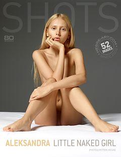 Aleksandra little naked girl