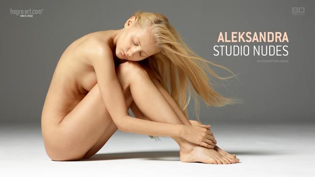 Aleksandra studio nudes