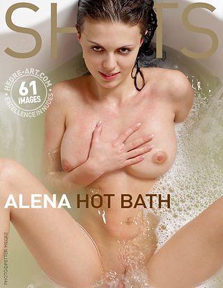 Alena hot bath