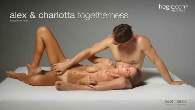 Alex and Charlotta togetherness