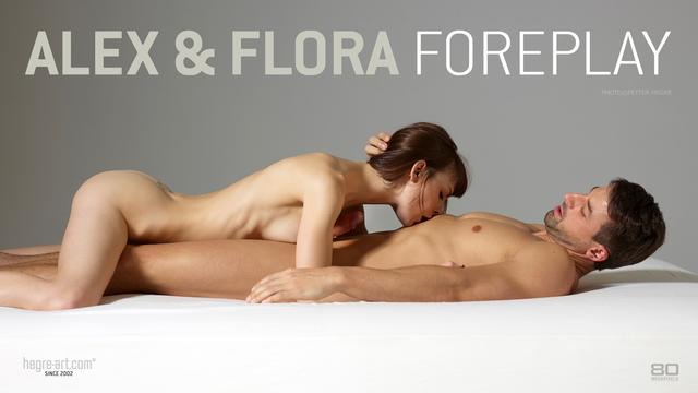 Alex and Flora foreplay