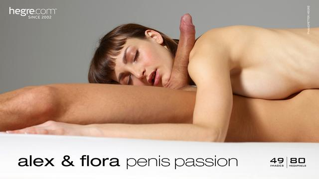 Alex and Flora penis passion