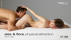 Alex and Flora physical attraction part 2
