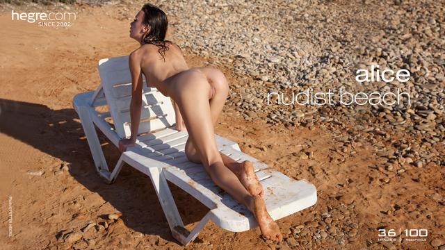 Alice nudist beach
