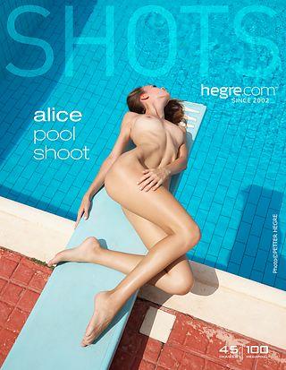 Alice pool shoot