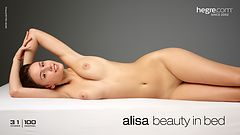 Alisa beauty in bed