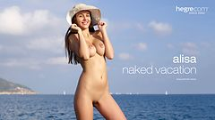 Alisa naked vacation