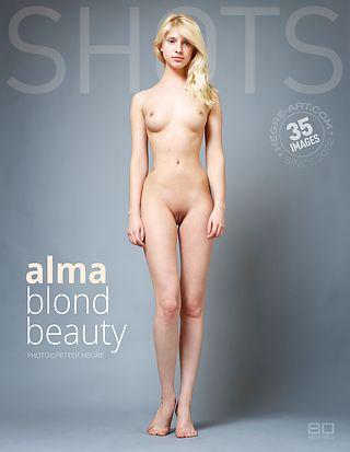 Alma blond beauty