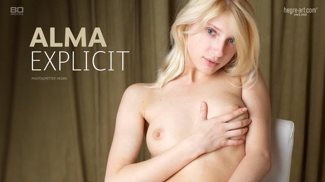 Alma explicit