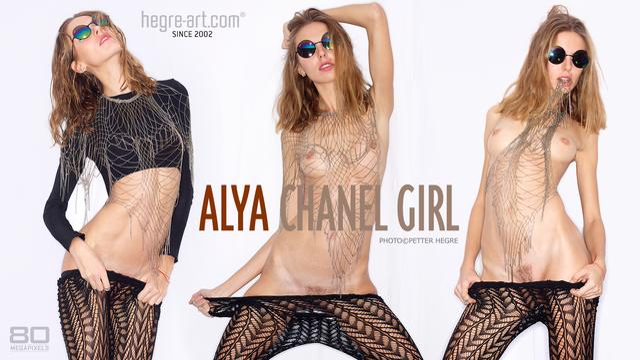 Alya fille CHANEL