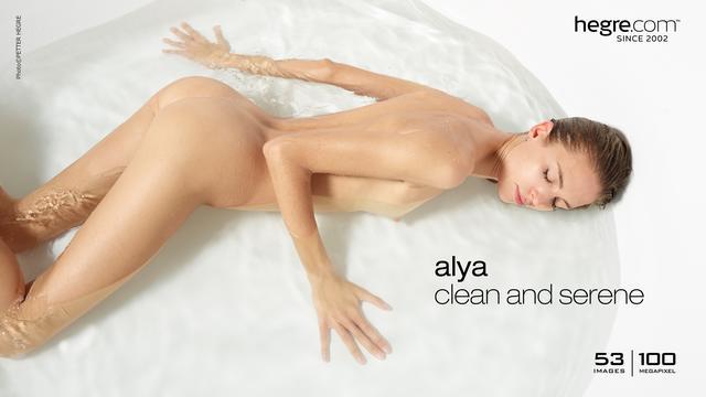 Alya clean and serene