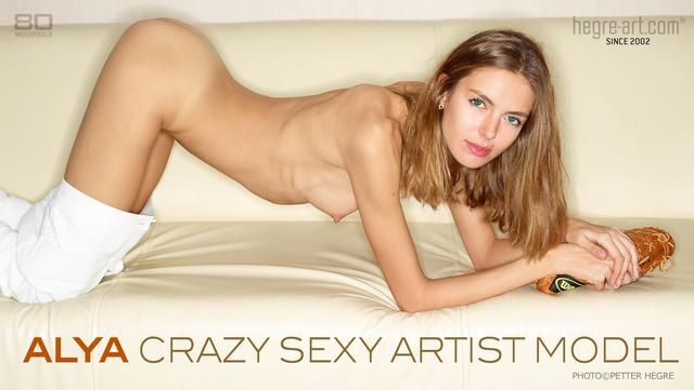 Alya modelo artista loca sexy