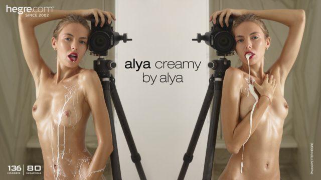 Alya crémeuse par Alya
