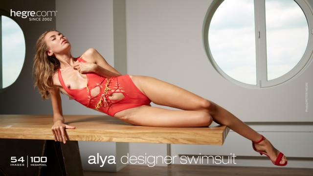 Alya designer swimsuit
