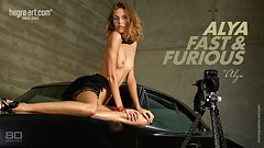 Alya Fast and Furious by Alya