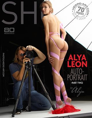 Alya Leon autoportrait part2