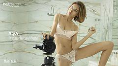 Alya lingerie selfies