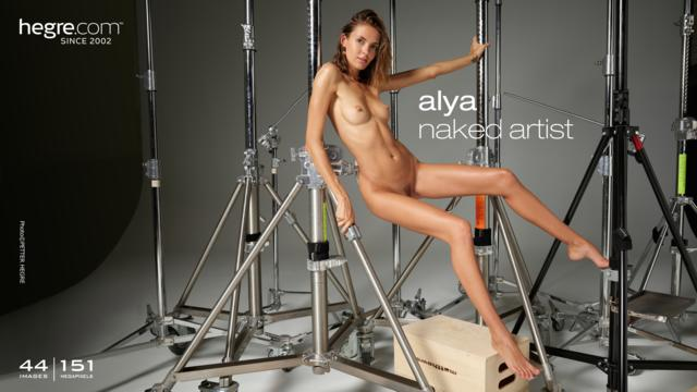 Alya naked artist