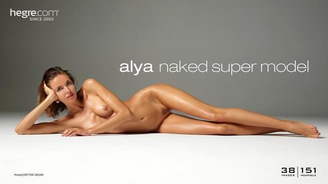 Alya naked super model
