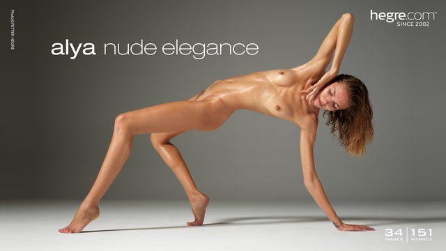 Alya nude elegance