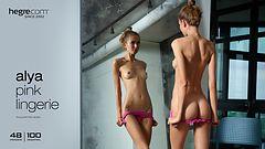 Alya Pink lingerie