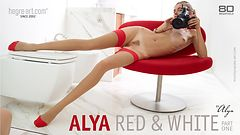 Alya red and white by Alya part1