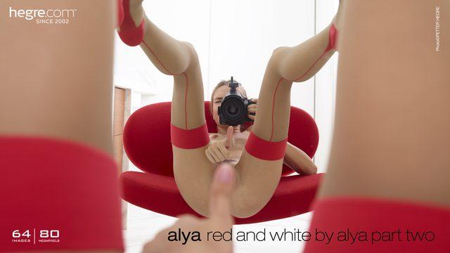 Alya rot und weiß von Alya Teil 2