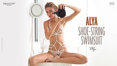 Alya shoe string swimsuit by Alya
