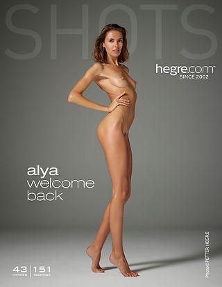 Alya welcome back