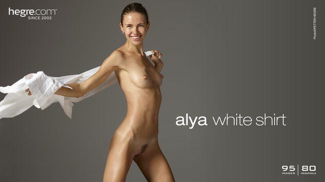 Alya blusa blanca