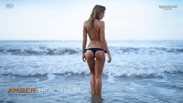 Amber vive la plage