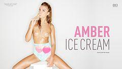Amber helado