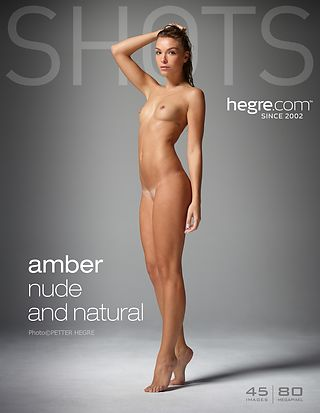 Amber nude and natural