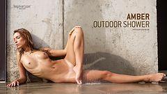 Amber ducha exterior