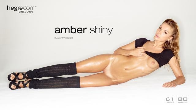 Amber shiny