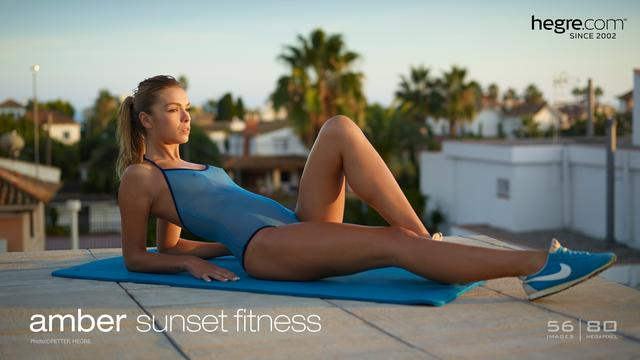 Amber sunset fitness