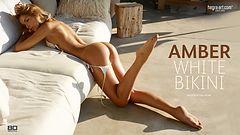Amber bikini blanco