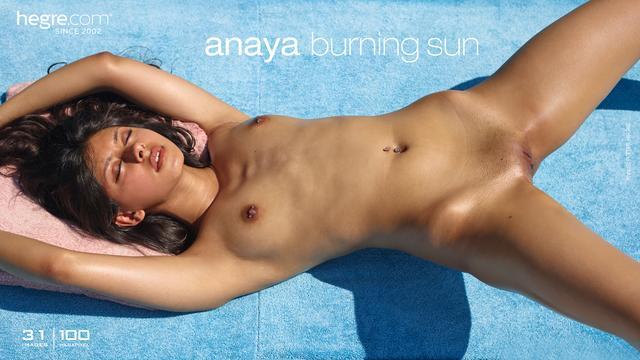 Anaya burning sun