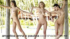 Angelica, Anna S., and Paulina cool shade