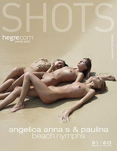 Angelica, Anna S., Paulina beach nymphs