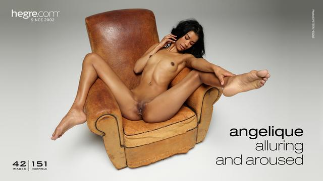 Angelique alluring and aroused